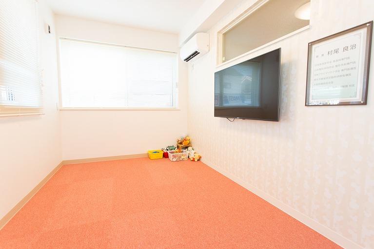 岸和田の小児科、村尾診療所ではキッズルームを完備しています。