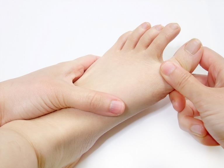 足・足指(足首より下の部分)